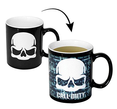 Call of Duty – Skull Thermoeffekt-Tasse