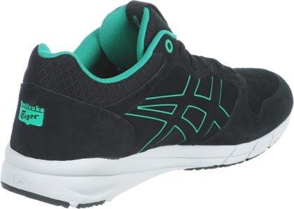 Asics Shaw Runner, Chaussures homme Noir (vert)