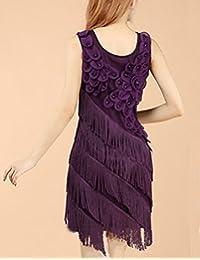 es Amazon Vestido Mujer Vestidos Flecos Ropa xxOwUrv