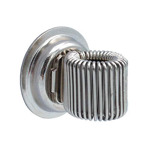 WANDLER® by Infinity Boxes Magnet, magnetischer Stifthalter, silber, rund, Ø 2 cm