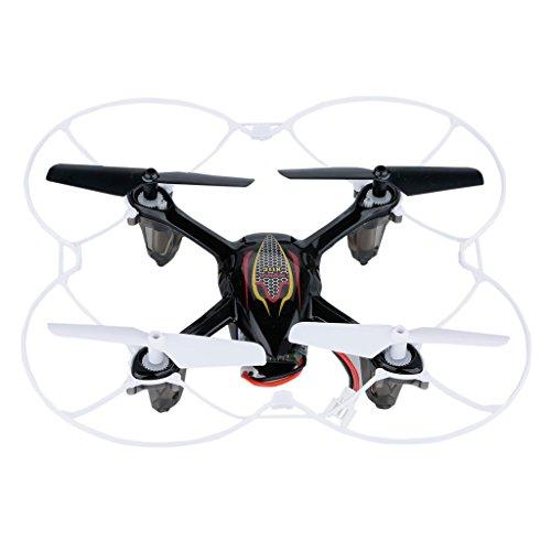Syma X11C - Mini Drone, Cuadricóptero RC, Air RTF (2.0 Mp Cámara, 4 Canales, 2.4GHz, Luz LED), Negro