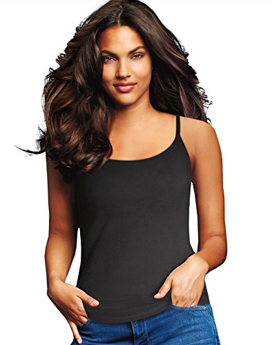 Cami 2 Pack (Maidenform Cotton Stretch Cami, 2-Pack M Assorted)