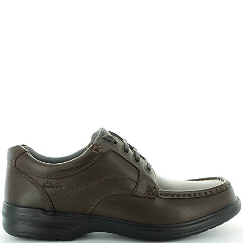 Clarks Keeler Walk Brown Leather 8 UK H / 42 EU