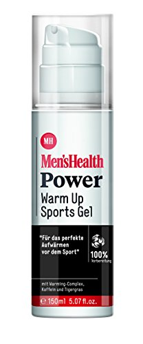 Men´s Health Power Warm Up Sports Gel  - vegan & parabenfrei, 1er  Pack (1 x  150 ml)