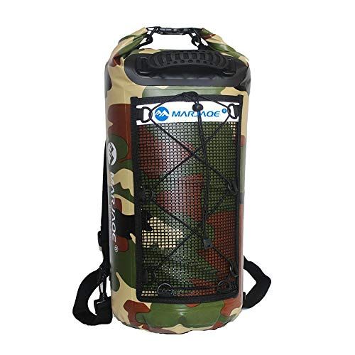 kelihood 25L 500D PVC Wasserdichte Taschen Lagerung Doppel Schulter Sport Rucksack Straps Dry Sack Für Kanu Kajak Rafting Reise