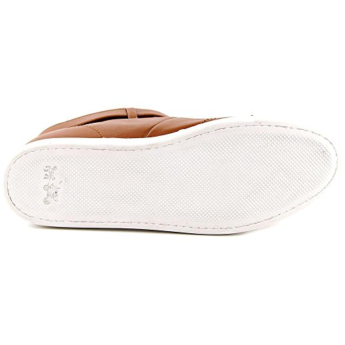 Coach Richmond Damen Leder Sportliche Turnschuh Saddle