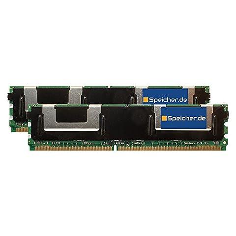 8GB (2x4GB) Kit RAM Speicher für Dell Precision T5400 DDR2 FB DIMM 667MHz PC2-5300F (667 Fb Dimm Kit)