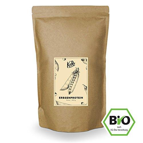 Bio Erbsenprotein ● Vegan ● Natur Geschmack ● Ohne Zusätze ● 500 g ● KoRo