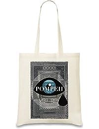 Tears over pompeii Bolso de mano