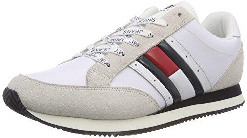 Hilfiger Denim RWB Casual Retro Sneaker, Scarpe da Ginnastica Basse Uomo, Blu (Ink 006), 43 EU