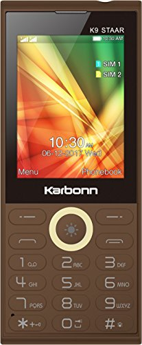 Karbonn K9 Staar  Coffee
