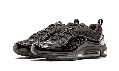 Nike Air Max 98 / Supreme, Chaussures de Running Entrainement Homme black/black-black