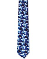 Scotland Flags Waving Tie