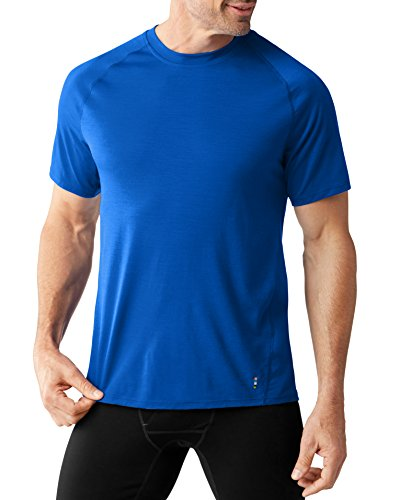 smartwool-merino-150-short-sleeved-strato-di-base-uomo-bright-blue-s