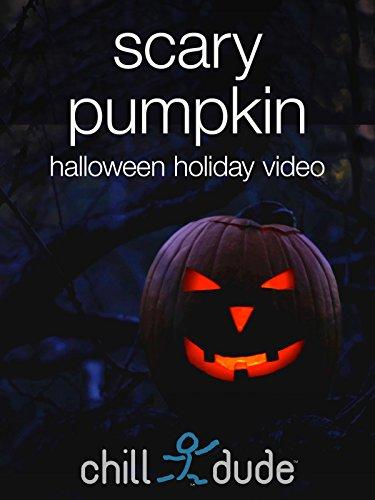 Scary Pumpkin Halloween Holiday Video ()