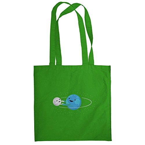 Texlab–Around Me–sacchetto di stoffa Verde