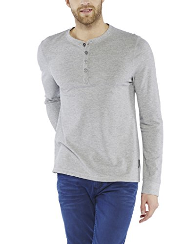 Colorado Denim Frankie, T-Shirt Uomo Grau (GREY MELANGE 9051)