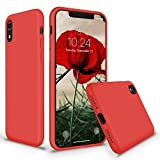 SURPHY Coque iPhone XR, Coque Etui Bumper iPhone XR Silicone Liquide Antichoc Premium...