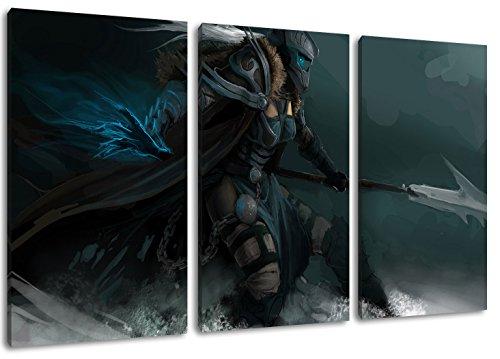 World of Warcraft – Dark 3-teilig auf Leinwand