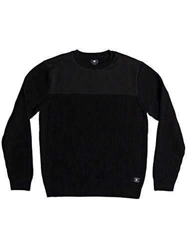 Herren Strickjacke DC Panelytics Pullover Black