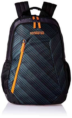 American Tourister Rave 29 Ltrs Black Casual Backpack (Fi3 (0) 09 001)