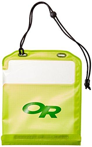 Outdoor Research Sensor Dry Pocket Premium, wasserdichte Tasche für Touchscreen-Geräte (Tablet, lemongrass)