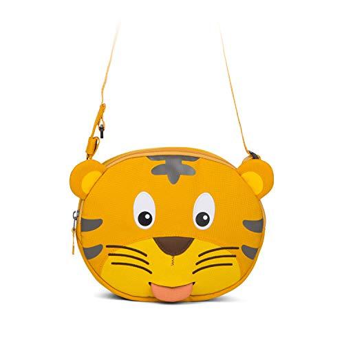 Affenzahn Kindergarten-Tasche Umhängetasche verstellbar für Jungen und Mädchen in der Kita Timmy Tiger - Gelb