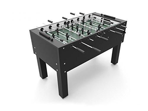 Preisvergleich Produktbild Ullrich-Home Schwarz B-Ware Tischfußball Kicker-Tisch 'NEU' Made in Germany