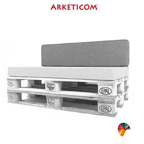 Arketicom ARK-PL-PALLET-BACK-120x30x15-GY