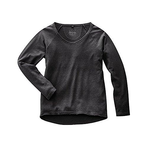 HempAge Damen Langarmshirt Black