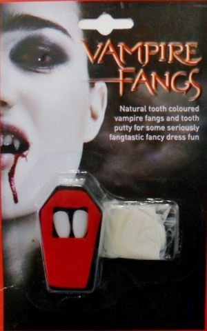 HALLOWEEN MAKEUP FACE PAINT ZOMBIE DEVIL WITCH VAMPIRE CLOWN KIT SET FAKE BLOOD[Vampire Blood] by Other