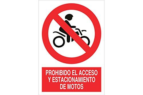 'cofan p84ad148105-signal Parken verboten Zugang und Motorradbatterien