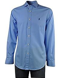 Fit Gxrrga Colore Custom Ralph L Blu Camicia Pony Uomo Tg Lauren dpvqq0H