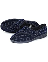 Homecraft Loop Check Slippers for Gents