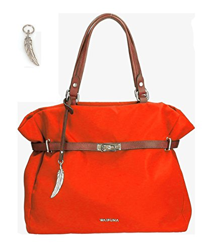 Waipuna, Borsa a mano donna rosso wine / weinrot red / rot