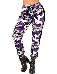 Amazon.es  pantalones camuflaje mujer - 4108424031  Ropa 627ebc4b7f7b