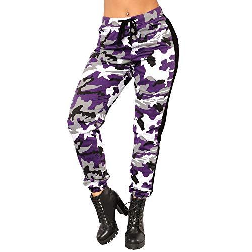 Pantaloni sportivi delle donne,Yoga pants,Donna Leggings,Maglia Eleganti Leggings Sport,YanHoo Pantaloni casual da donna Pantaloni sportivi da combattimento Elastico militare