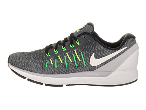 Nike Air Zoom Odyssey 2, Chaussures de Running Entrainement Homme Gris (Dark Grey / Summit White-Wolf Grey-Black)