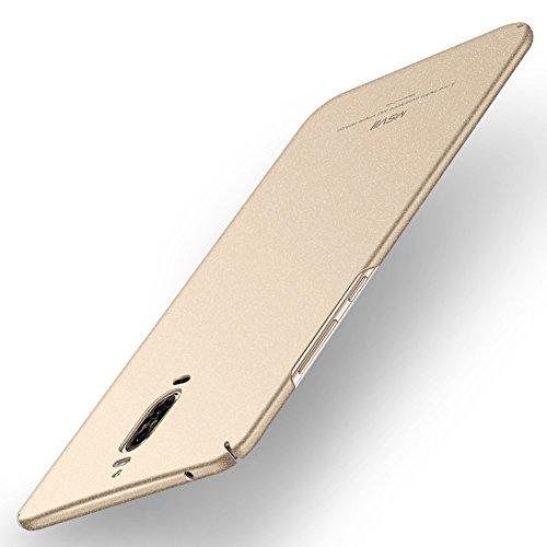 Coque Huawei Mate 9 Pro, MSVII® PC Plastique Coque Etui Housse Case et Protecteur écran Pour Huawei Mate 9 Pro (Pas compatible avec Huawei Mate 9) - Or JY30023 Or