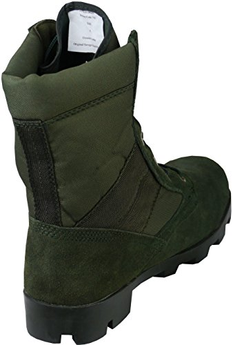 Verde militari combattimento Anfibi pattuglia giungla Anfibi militari tattici 0pwEqfn6