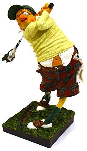 Art Escudellers Sculpture décorative Joueur DE Golf/Le Golfeur en résine, Peint à la Main et...