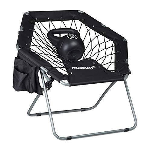Zoom IMG-2 relaxdays bungee chair webster elastica