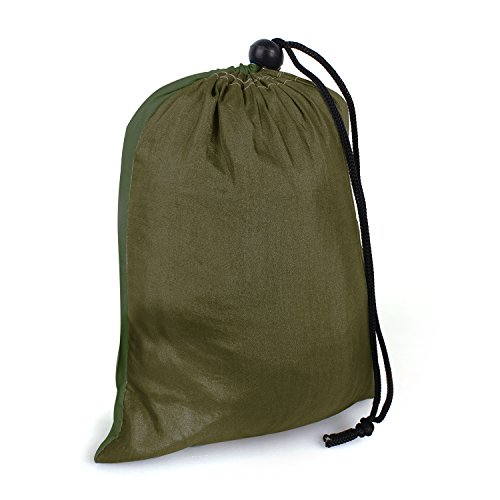 Hängematte Camping Hammock Single/Double Parachute, leicht und tragbar, mit extra Schlafaugenmaske Augenbinde Blindfold - 2