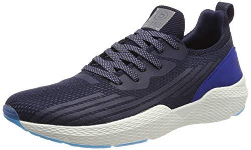 bugatti Herren 341730606900 Slip On Sneaker, Blau, 44 EU