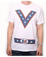 Evel Knievel T Shirt - Evel Costume 100% Official US Import