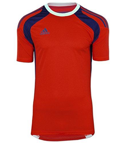 adidas Fußball Trikot Torwarttrikot Goalkeeper Jersey adizero (rot-blau, D10 (58) - Kurzarm Trikot Torwart