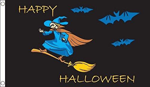 Halloween Hexe Flagge