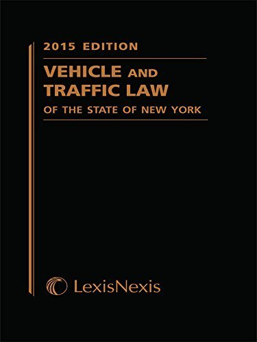 Vehicle and Traffic Law of the State of New York (2015 Softcover Edition) (Vehicle and Traffic Law of New York) by Publisher's Editorial Staff (2014) Perfect Paperback