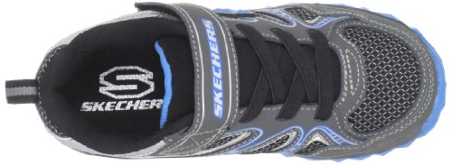Skechers Mighty Flex Hustle 95261L Jungen Sneaker Grau (CCBL)