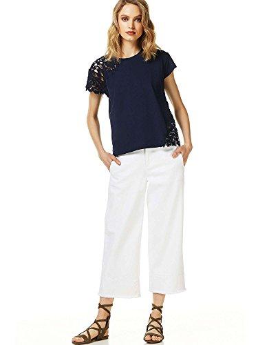 Liu Jo Jeans Duiker Shirt, T-Shirt Donna Blu